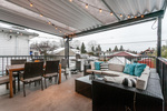 Patio at 4211 Oxford Street, Vancouver Heights, Burnaby North