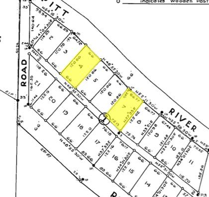 survey at 1658 Brunette Avenue, Maillardville, Coquitlam