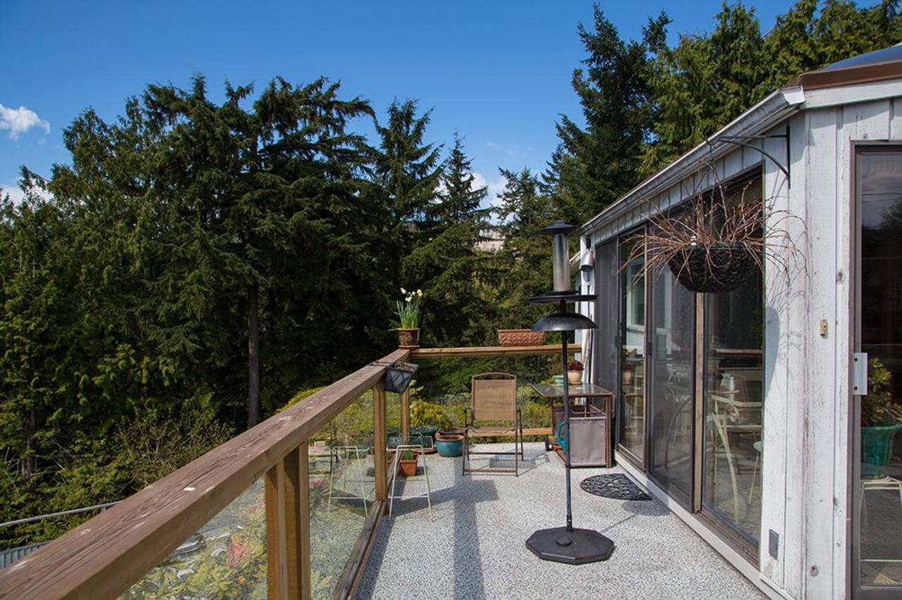 Deck at 4155 Burkehill Place, Bayridge, West Vancouver