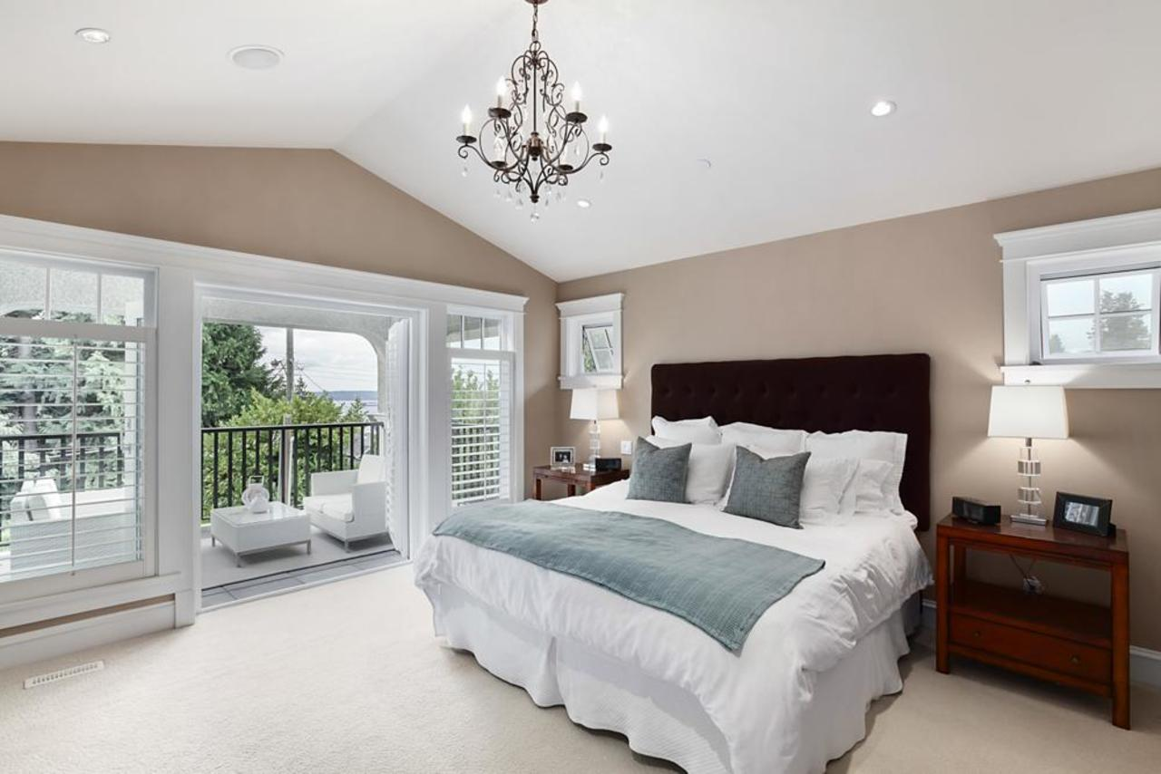 Master bedroom  at 1447 Ottawa Avenue, Ambleside, West Vancouver