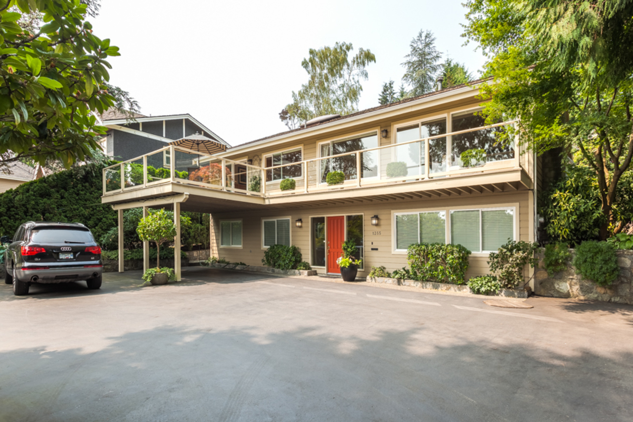 Front of House at 1355 Palmerston Avenue, British Properties, West Vancouver