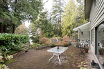 patio at 5019 Howe Sound Lane, Caulfeild, West Vancouver