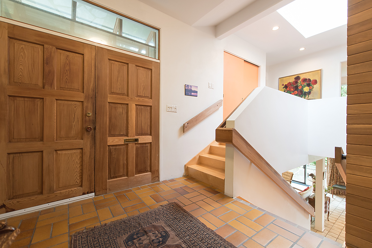 foyer at 5019 Howe Sound Lane, Caulfeild, West Vancouver