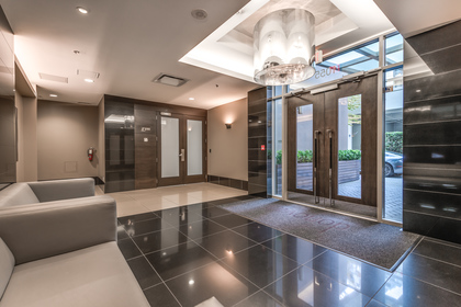 Lobby at 1001 - 1055 Richards Street, Yaletown, Vancouver West