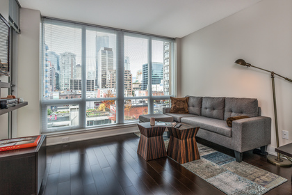 Living at 1001 - 1055 Richards Street, Yaletown, Vancouver West