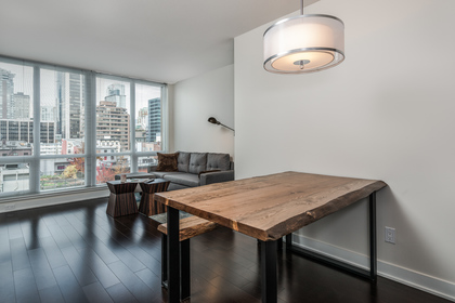 Living/Dining at 1001 - 1055 Richards Street, Yaletown, Vancouver West