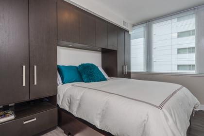 Maser Bedroom at 1001 - 1055 Richards Street, Yaletown, Vancouver West