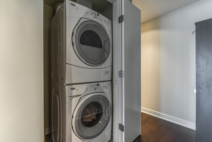 Laundry at 1001 - 1055 Richards Street, Yaletown, Vancouver West