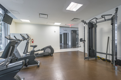 Gym at 1001 - 1055 Richards Street, Yaletown, Vancouver West