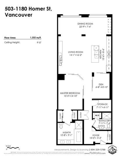1180-homer-street-yaletown-vancouver-west-32 at 503 - 1180 Homer Street, Yaletown, Vancouver West