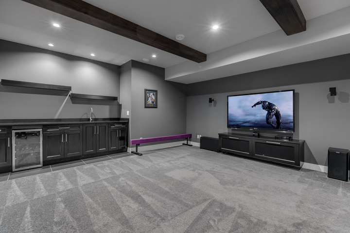 16-lower-level-theatre-room-with-wet-bar at 5911 168a Street, Cloverdale BC, Cloverdale