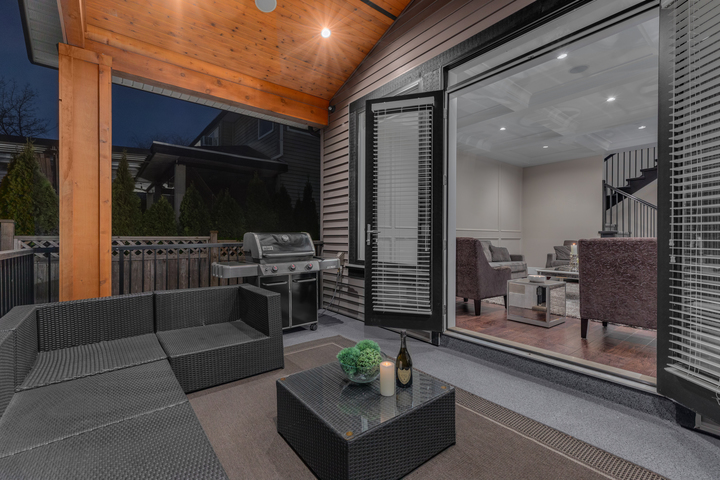 19-covered-deck-with-barbeque-and-built-in-speakers-for-year-round-enjoyment at 5911 168a Street, Cloverdale BC, Cloverdale