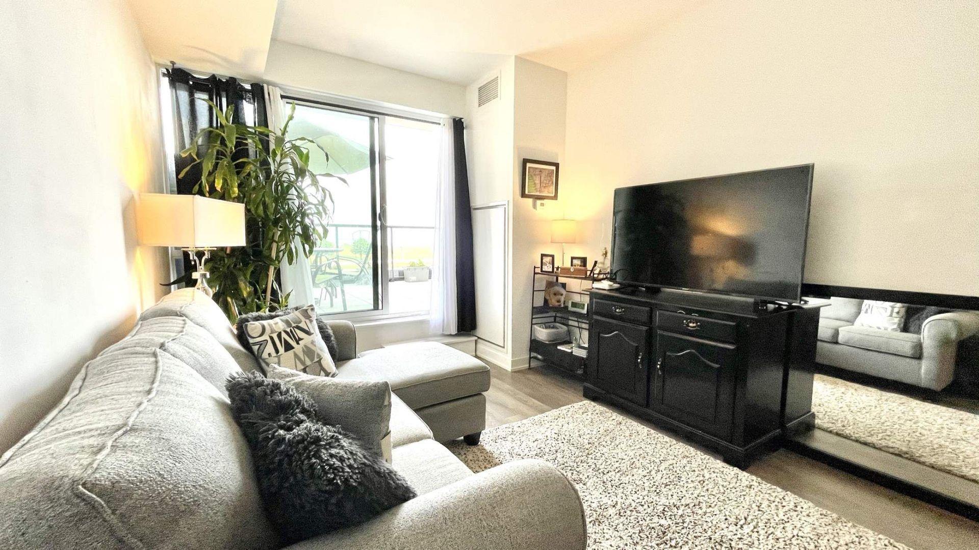 livingroom2 at # 215 - 550 North Service Road, Grimsby