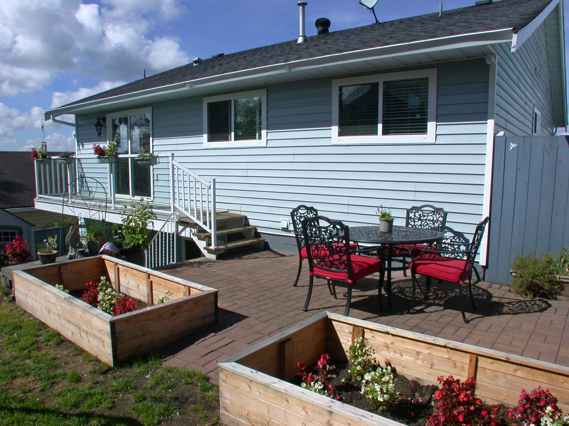 20Patio2 at 11390 Harrison, East Central, Maple Ridge