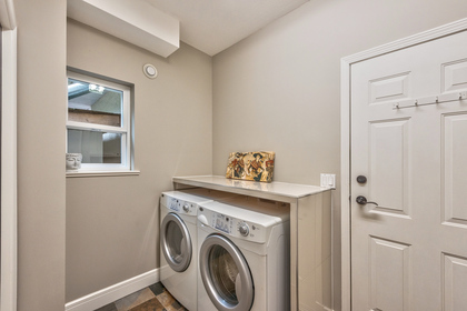 main-laundry at 131 Fern Drive, Anmore, Port Moody