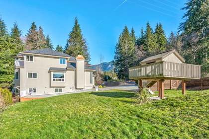 yard-7 at 131 Fern Drive, Anmore, Port Moody