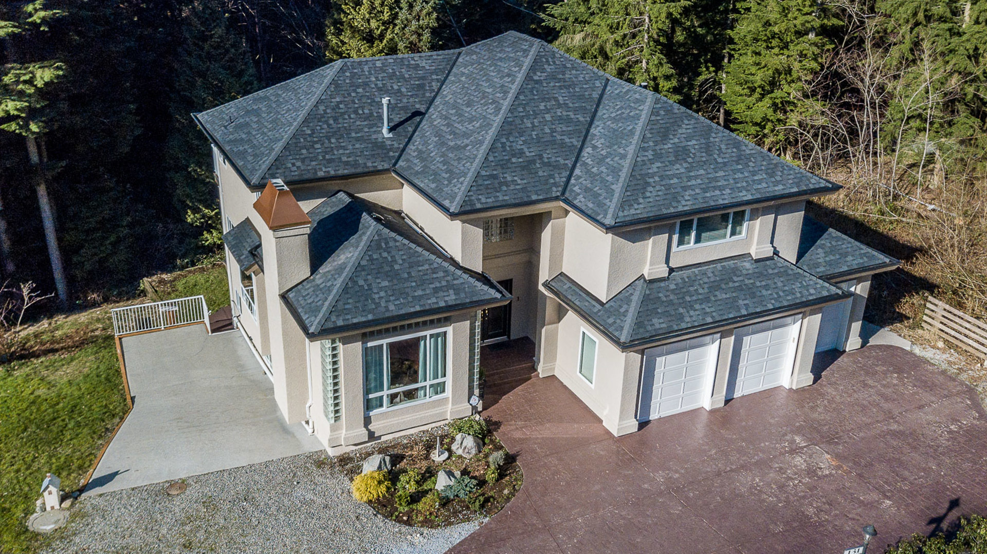 drone-12 at 131 Fern Drive, Anmore, Port Moody