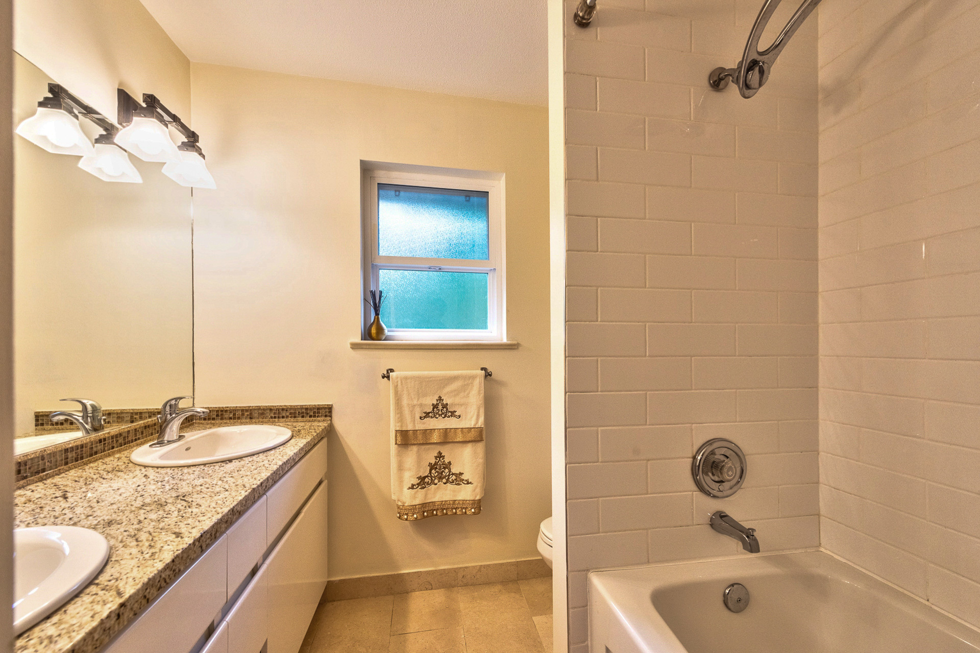main-bath at 131 Fern Drive, Anmore, Port Moody