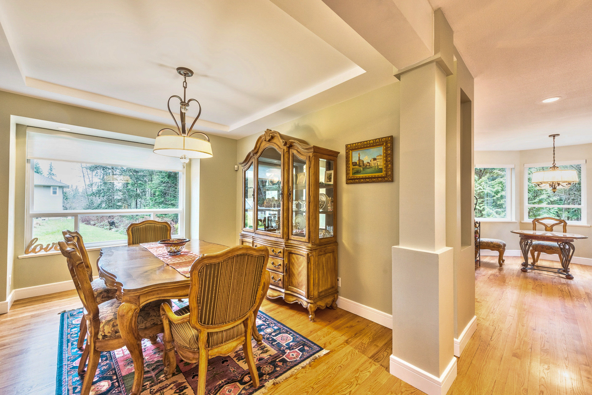 main-dining-room at 131 Fern Drive, Anmore, Port Moody