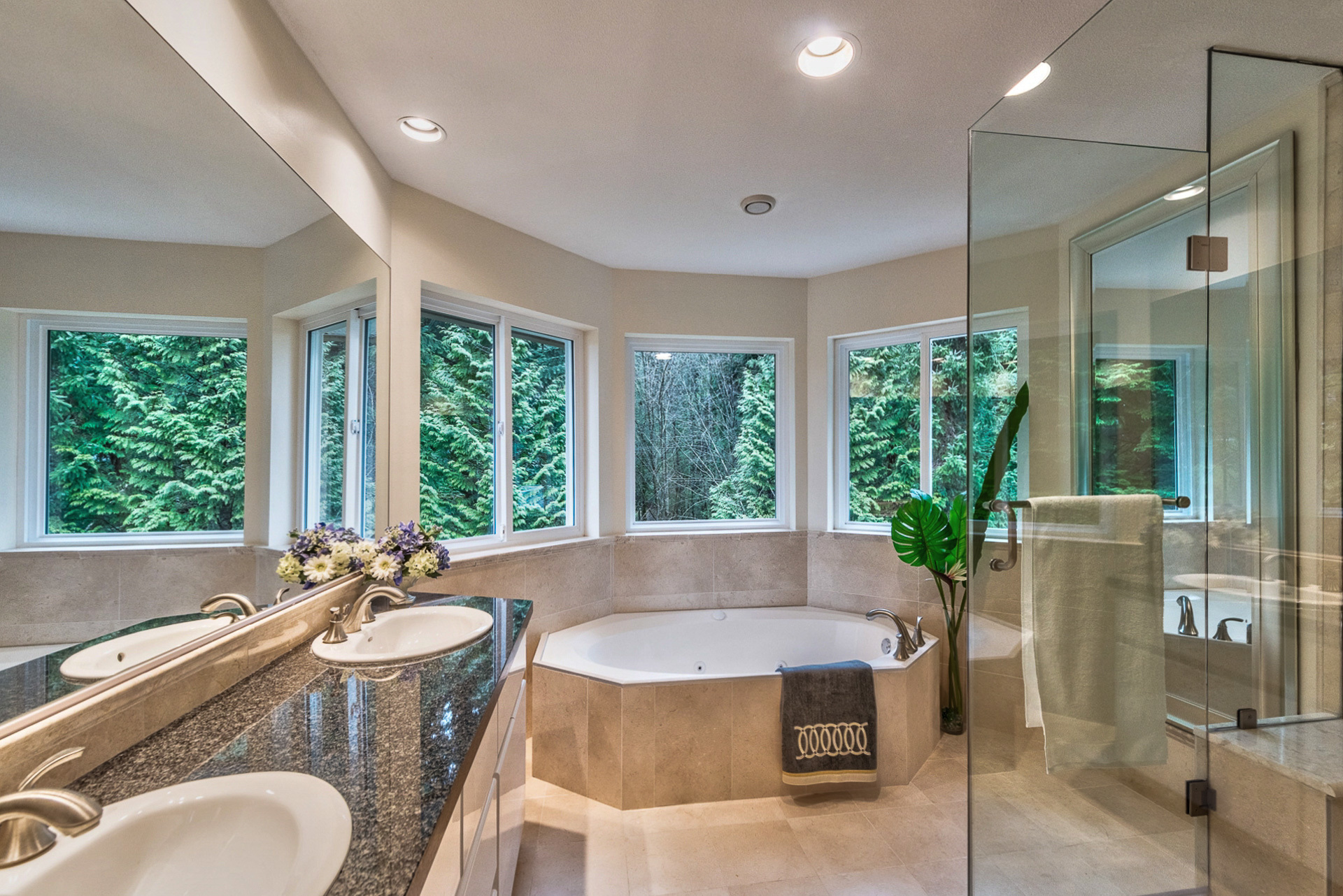 main-ensuite at 131 Fern Drive, Anmore, Port Moody