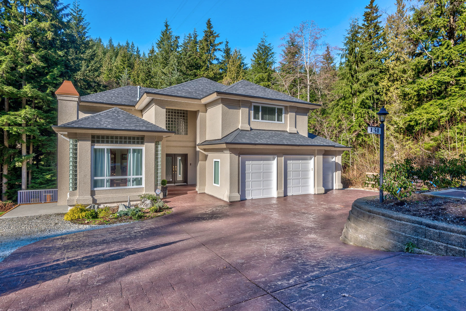 main-front at 131 Fern Drive, Anmore, Port Moody