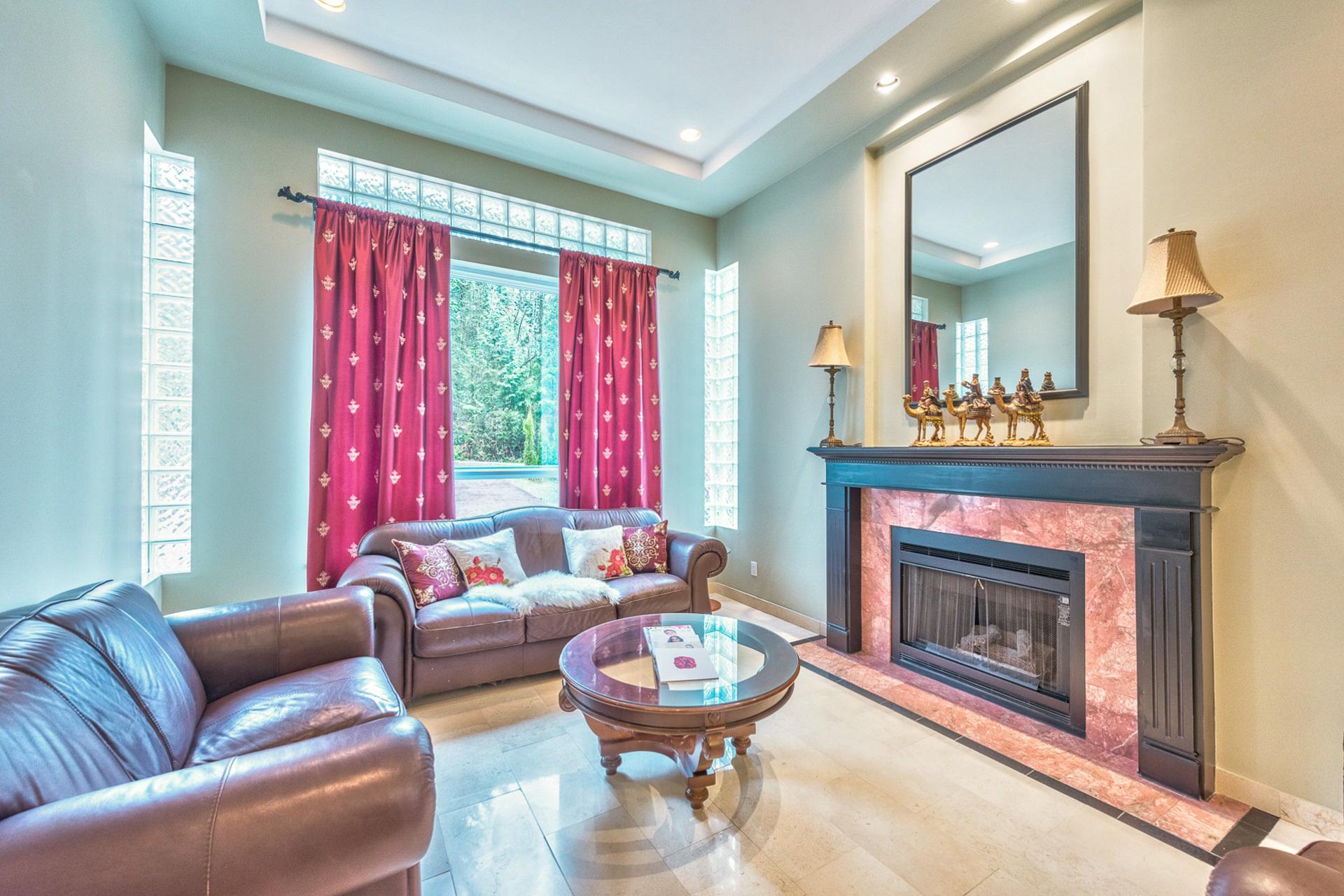 main-living-room at 131 Fern Drive, Anmore, Port Moody