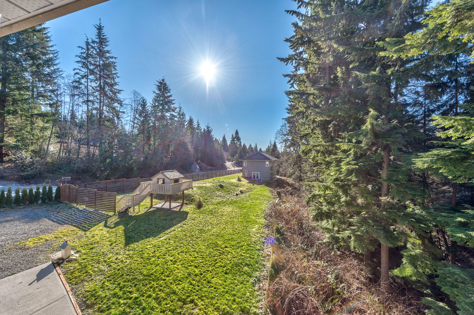 yard-1 at 131 Fern Drive, Anmore, Port Moody