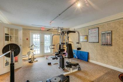 workout-room-r2126191 at 409 - 1669 Grant Avenue, Glenwood PQ, Port Coquitlam