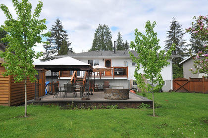 back-yard-patio at 21682 125 Avenue, West Central, Maple Ridge