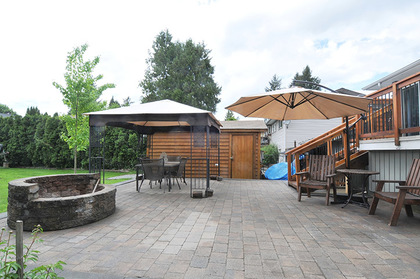 patio at 21682 125 Avenue, West Central, Maple Ridge