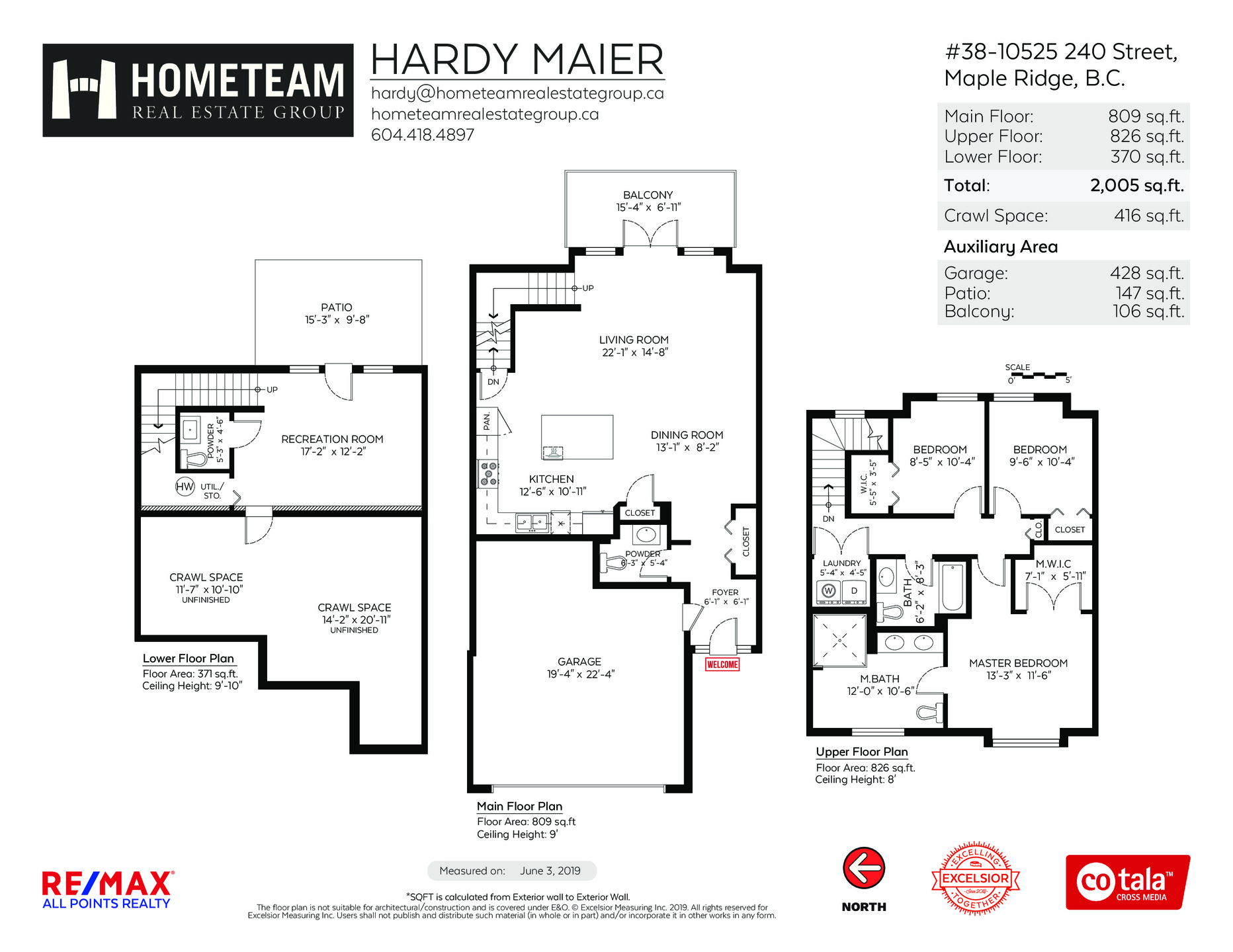 floorplan_branded at 38 - 10525 240 Street, Albion, Maple Ridge