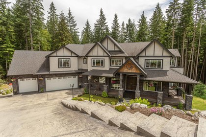Front at 1408 Crystal Creek Drive, Anmore, Port Moody