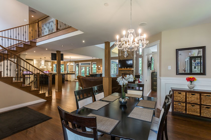 Open Concept at 1408 Crystal Creek Drive, Anmore, Port Moody