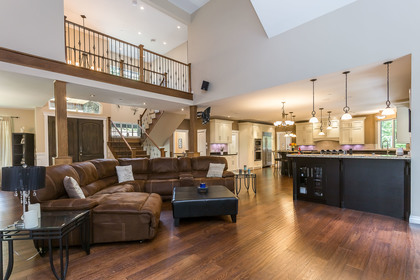 Open Main Floor at 1408 Crystal Creek Drive, Anmore, Port Moody