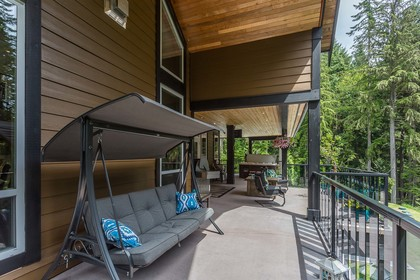 1000 sqft of Covered Deckspace at 1408 Crystal Creek Drive, Anmore, Port Moody