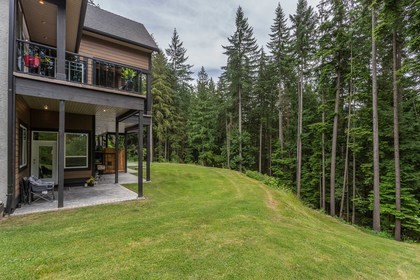Suite 2 Entry at 1408 Crystal Creek Drive, Anmore, Port Moody