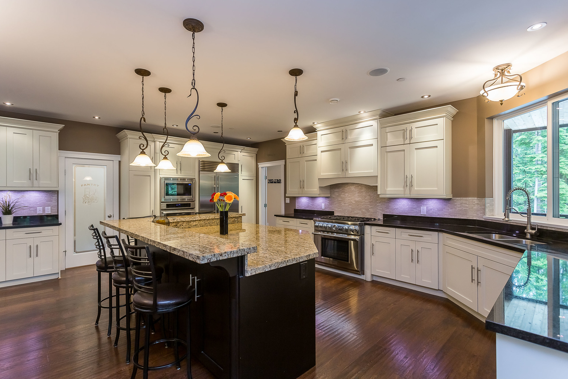 Kitchen at 1408 Crystal Creek Drive, Anmore, Port Moody