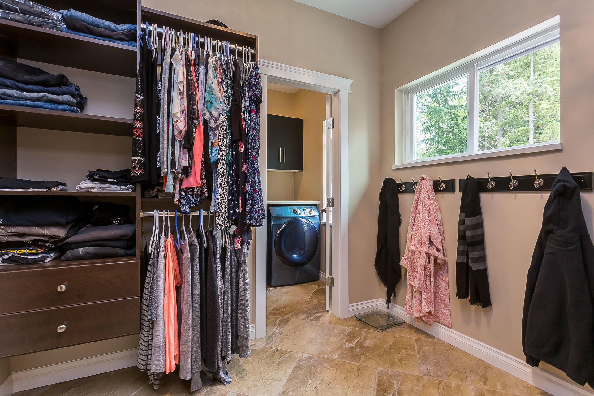 Walk In Closet at 1408 Crystal Creek Drive, Anmore, Port Moody