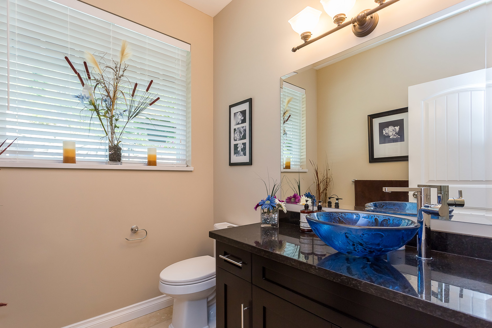 Powder Room at 1408 Crystal Creek Drive, Anmore, Port Moody