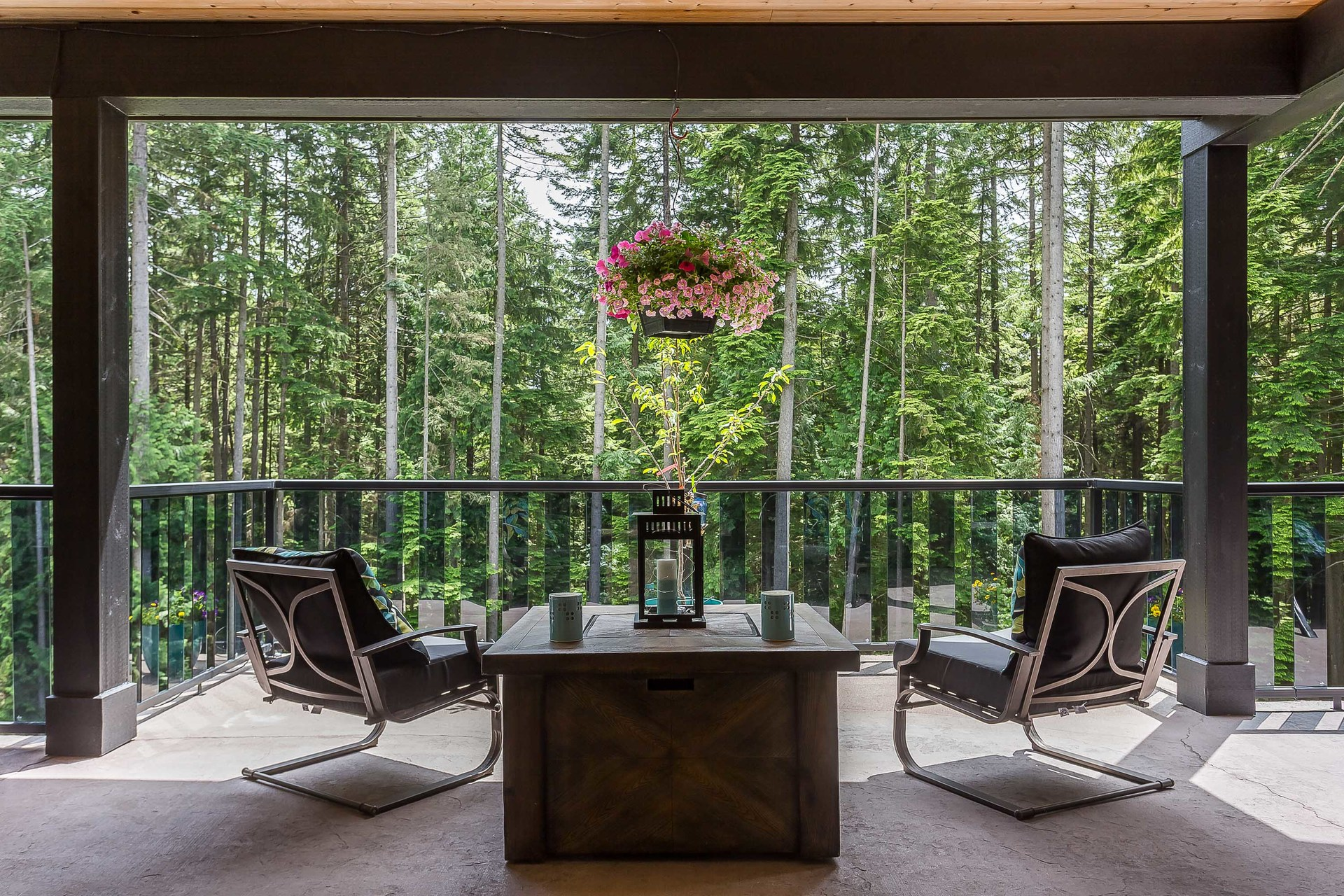 Tranquil Surroundings at 1408 Crystal Creek Drive, Anmore, Port Moody