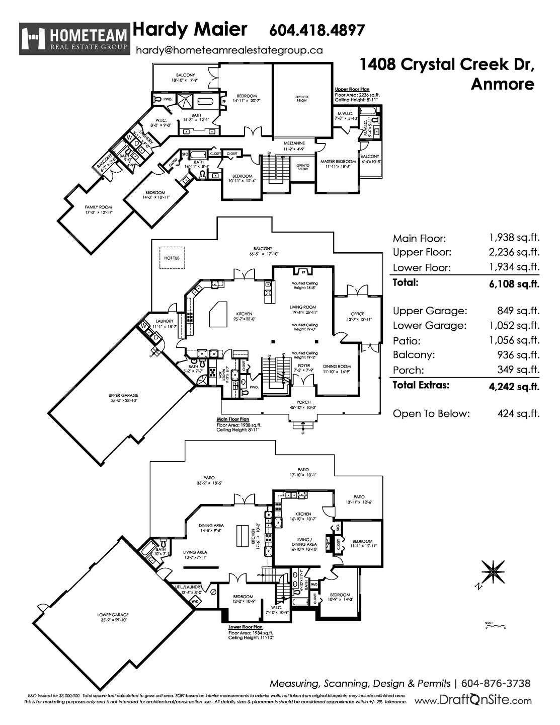 floorplan_branded at 1408 Crystal Creek Drive, Anmore, Port Moody