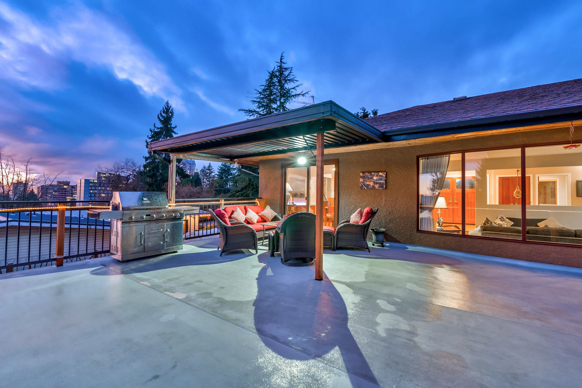 deck-view at 630 Sydney Avenue, Coquitlam West, Coquitlam