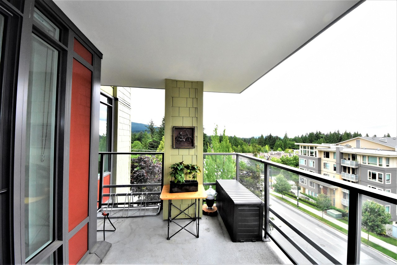 balcony1 at 419 - 2738 Library Lane, Lynn Valley, North Vancouver