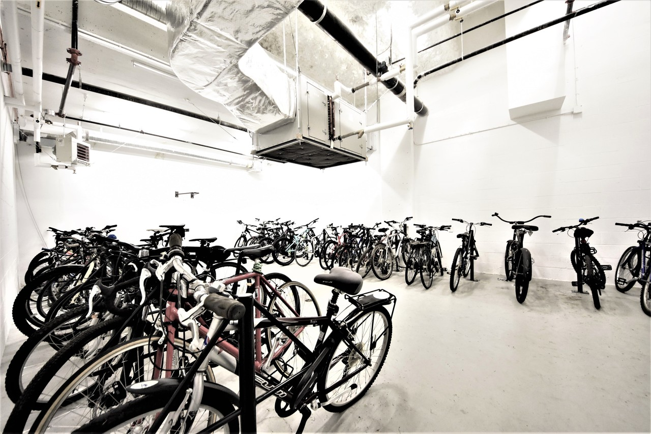 bike-room at 419 - 2738 Library Lane, Lynn Valley, North Vancouver