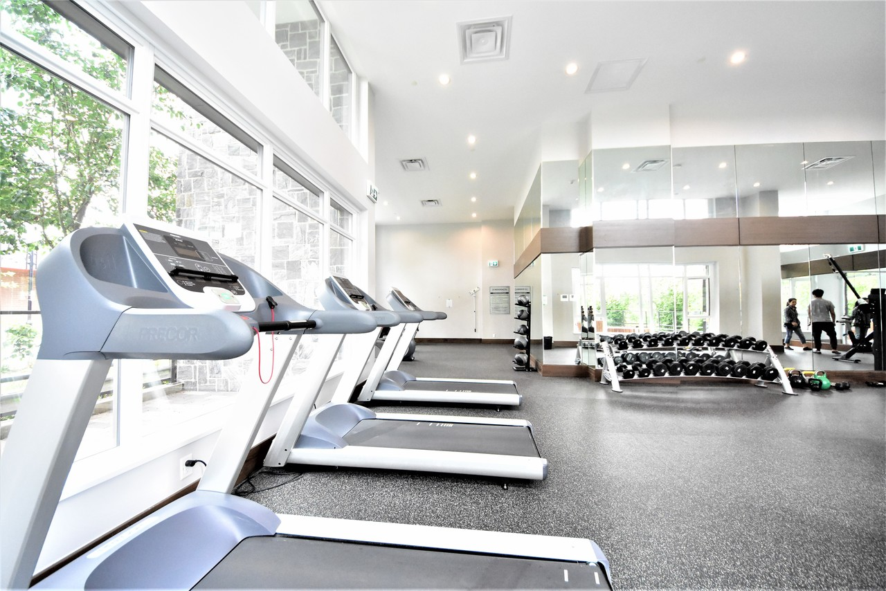 fitness-room-2 at 419 - 2738 Library Lane, Lynn Valley, North Vancouver