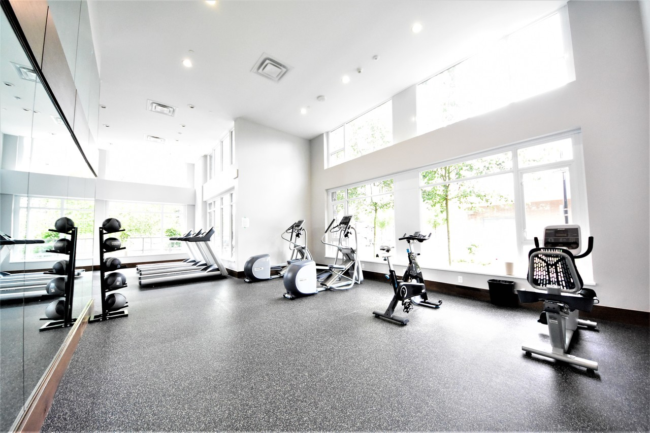 fittness-room at 419 - 2738 Library Lane, Lynn Valley, North Vancouver