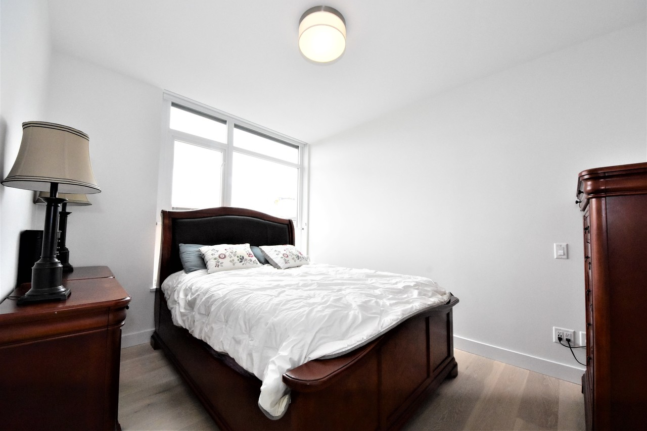 master-bedroom at 419 - 2738 Library Lane, Lynn Valley, North Vancouver