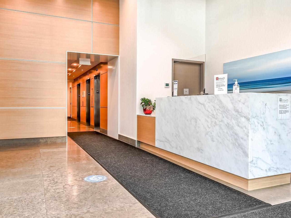 concierge at 4102 - 6098 Station Street, Metrotown, Burnaby South