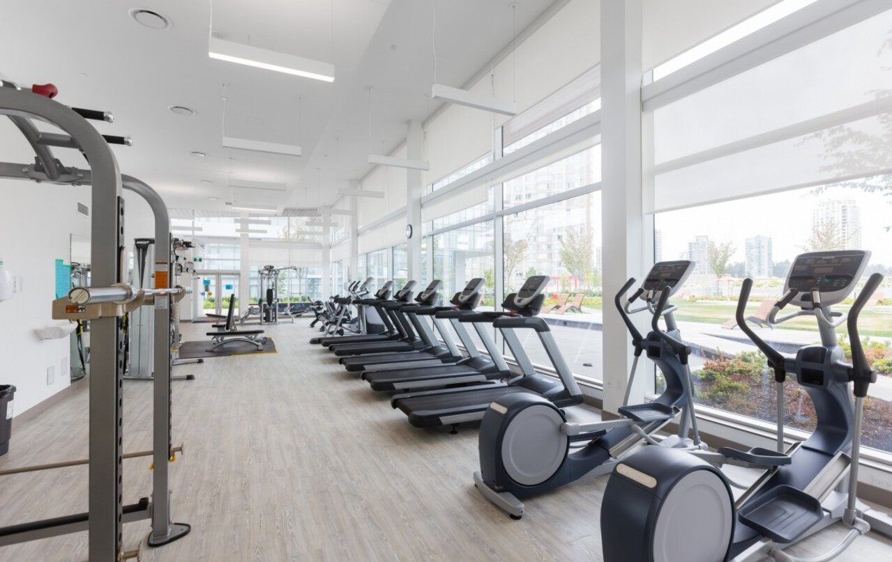 gym at 4102 - 6098 Station Street, Metrotown, Burnaby South