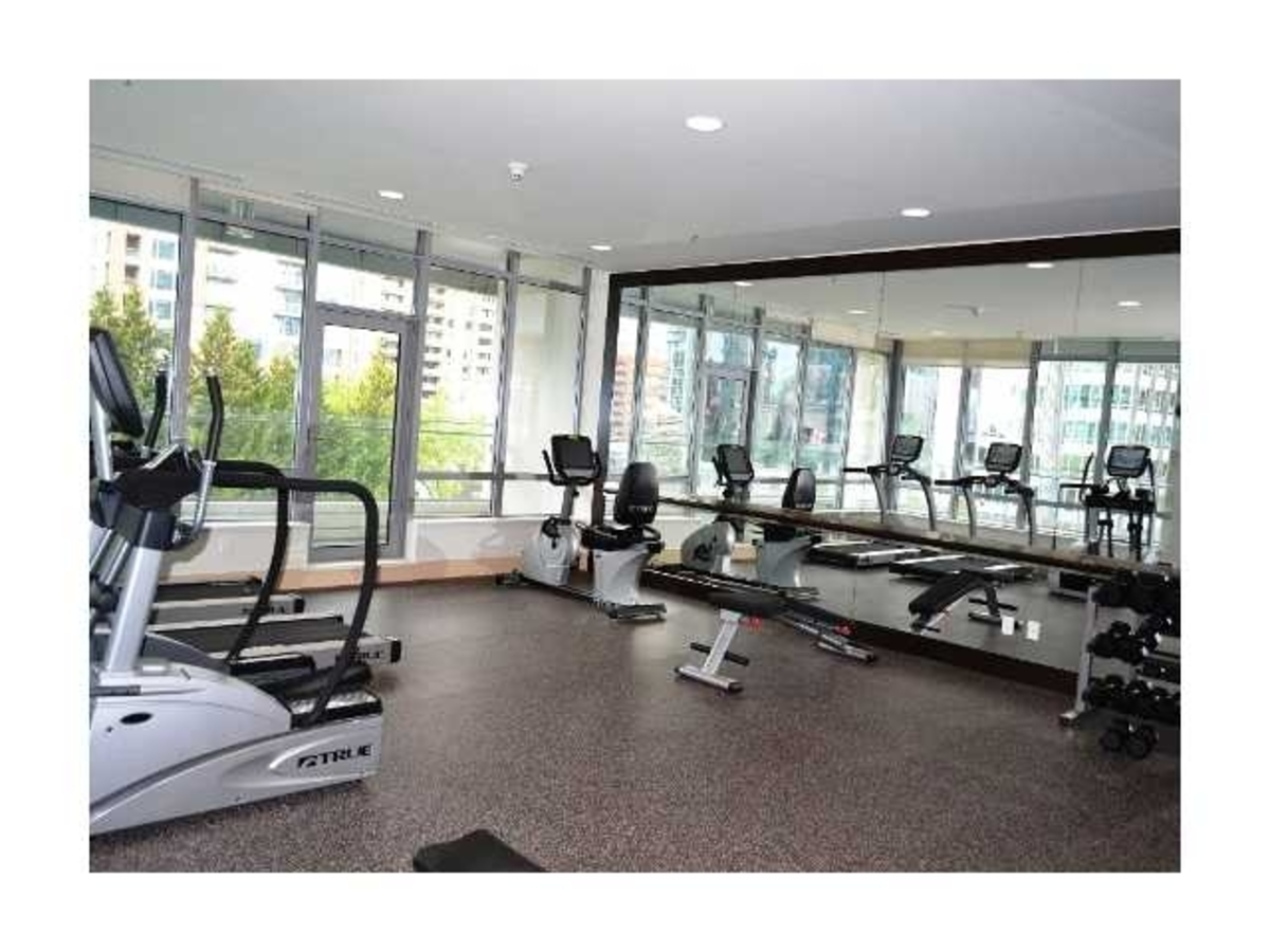 bgym.jpg at 2308 - 1028 Barclay, Downtown, Vancouver